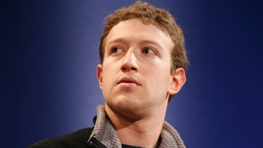 Bring on the nappy duty pictures: Mark Zuckerberg.