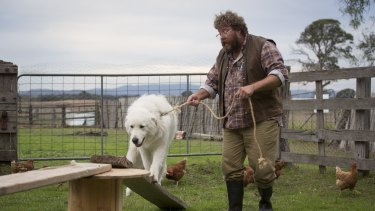 Shane Jacobson, as Swampy, takes eccentricity one step too far in <i>Oddball</i>.