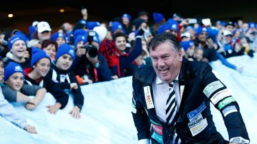 Eddie McGuire's comments about Caroline Wilson went down like a cold shard of ice.