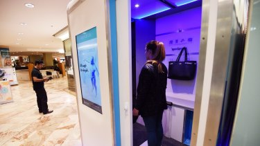 Click: The body-scanning technology could solve the problem of inconsistent clothing sizes.