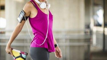 Fitbit, phone, headphones ... exercise is no longer a solitary pleasure.
