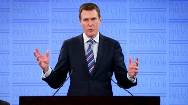 Hunting unnecessary savings: Social Services Minister Christian Porter this week.