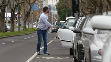 """""""A classic example"""": St Kilda Road in Melbourne."""