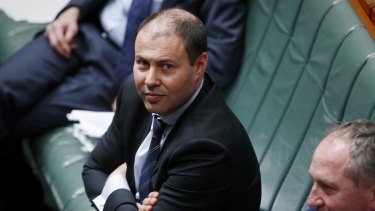 Minister for Environment and Energy Josh Frydenberg says climate change is real.