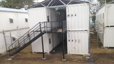 Housing on Manus Island.
