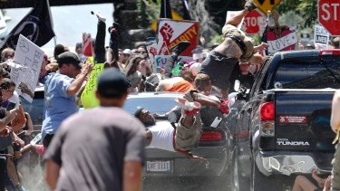 One person was killed after a 20-year-old drove his car into people protesting a white nationalist rally in Charlottesville over the weekend.