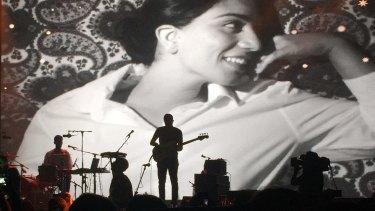 Mashrou' Leila in concert in Lebanon in August.