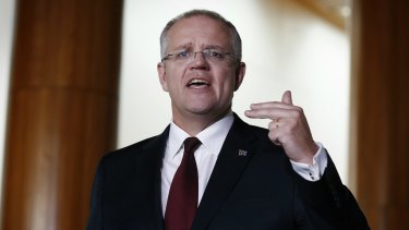 """Treasurer Scott Morrison is still working to get the Diverted Profits Tax legislation, dubbed informally as the """"Google Tax"""", through Parliament."""
