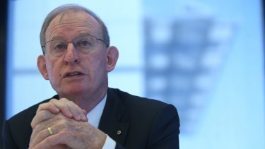 David Murray backed the move by APRA that stemmed from his review.