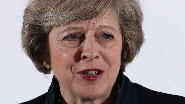Theresa May: star example.