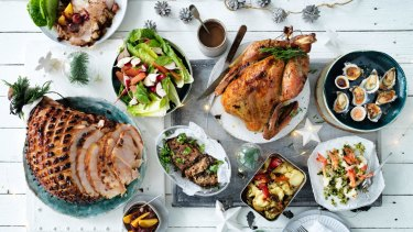 Feast your eyes on our Christmas spread.