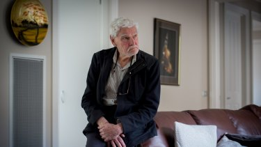 Dr Rodney Syme gives terminally ill people advice about how to end their lives.