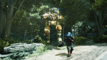 The relationship between protagonist Jack and mech BT is trite, but surprisingly engaging.