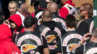 The execution of Hells Angels member Tyrone Slemnik involved an encrypted phone.