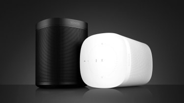The Sonos One looks like the old Play:1, but it has new insides and the ability to take voice commands.