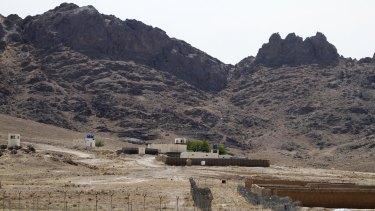 Mullah Omar's house in Kandahar province, Afghanistan.