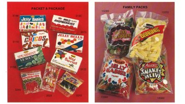 Australia's lolly history is preserved the Nestle archives.