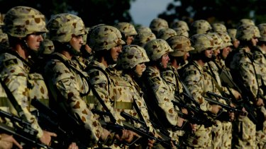 Australians tend to support military deployments with a humanitarian objective.