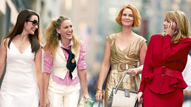 Kim Cattrall was Samantha in Sex and the City
