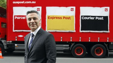 """Australia Post chief executive Ahmed Fahour says: """"We're talking about some pretty serious crime that was committed."""""""