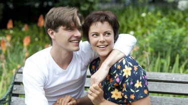 Xavier Samuel and Matilda Brown in <i>The Death and Life of Otto Bloom</I>.