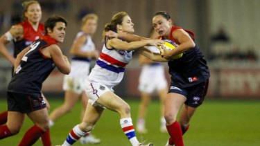 Melbourne and the Western Bulldogs, pilot clubs for women's teams, are widely considered to have entry from year one sewn up.