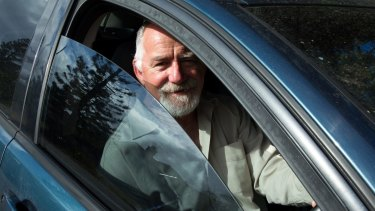Colin, a former photographer, is driving for UberX to help his daughter buy a home in Sydney.