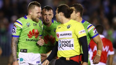 Cautious: The Canberra Raiders won't rush back five-eighth Blake Austin to face the Storm if he's not fully fit.