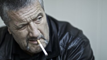 "Dog man: Mark ""Chopper"" had a succession of canines named after both criminals and lawyers."