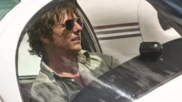 Swagger: Tom Cruise as pilot Barry Seal.