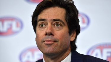 AFL boss Gillon McLachlan has expressed his disappointment at the events that led to the departures of two senior staffers.