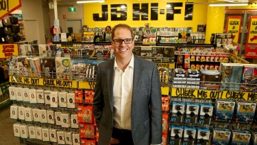 """""""If we remain relevant to our suppliers ... we'll be rewarded for that relevance"""": JB Hi-Fi chief executive Richard Murray."""