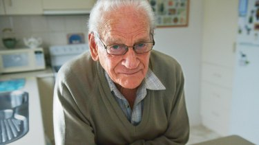Warwick Martell, 87, was enrolled with 60 other residents of his retirement home in a computer course.