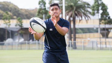 Delahoya Manu has an early offer to attend the University of Sydney under the future leaders program.