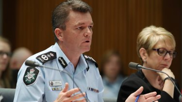 Federal police commissioner Andrew Colvin has bristled at criticism of his agency this week.