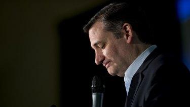 Snarky and self-assured: Senator Ted Cruz.