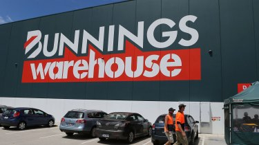 Bunnings has been received well in the UK, Wesfarmers says, but is running up heavy losses.