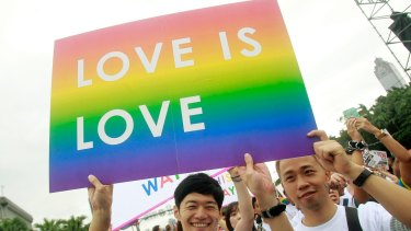 A Taiwanese court ruled on Wednesday that a civil law defining marriage as a union between a man and a woman violates constitutional guarantees of equal protection.