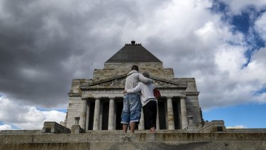 Melbourne's Shrine of Remembrance.