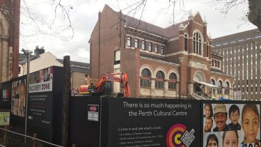 Police are investigating human remains found at a Northbridge construction site.