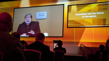 "Steve Wozniak tells the innovation summit that artificial intelligence researchers are getting close to the point of understanding ""what the brain is""."