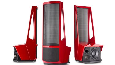 The Neolith is an electrostatic speaker that costs more than a granny flat.
