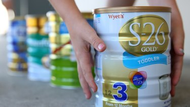 'Daigou' are often asked to buy baby formula following poisoning scandals in China that hospitalised 54,000 children.