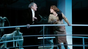 Thrilling: James Johnson (Wotan) and Jacqueline Dark (Fricka).