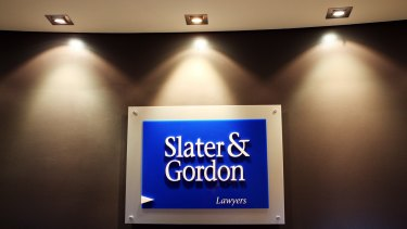 Slater and Gordon said it had new senior lenders after in excess of 94 per cent of its debt facility was on-sold by its original syndicate.