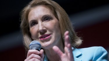 Carly Fiorina, former chairman and chief executive officer of Hewlett-Packard.