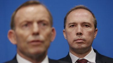Immigration Minister Peter Dutton has backed Prime Minister Tony Abbott over his response to the Bay of Bengal crisis.
