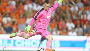 Rough times: Danny Vukovic has shrugged off persistent family problems to be the A-League's best keeper this season.