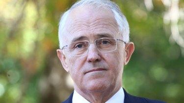 Prime Minister Malcolm Turnbull on Thursday.