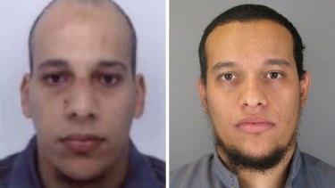 Surveillance of French terrorists Cherif Kouachi (left) and his brother Said was dropped six months before their deadly terror attack on the Charlie Hebdo office.